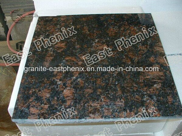 Tan Brown Granite para Flooring Tile